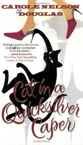 Cat In A Quicksilver Caper: A Midnight Louie Mystery front-544990