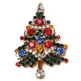 Smithsonian Bejeweled Christmas Tree Pin