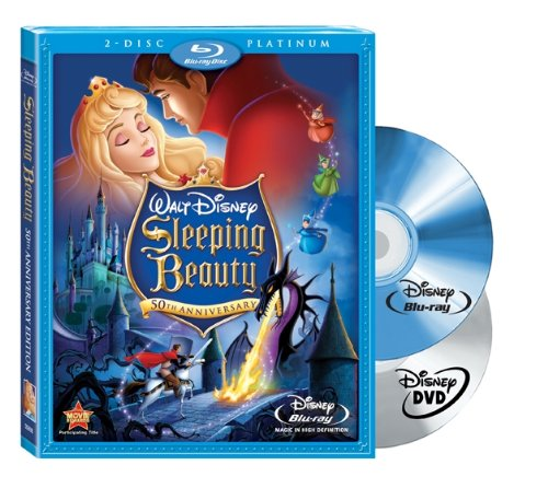 Sleeping Beauty 50th Anniversary Platinum Edition (3-Disc) (2-Disc Blu-ray + Standard DVD) (Widescreen)