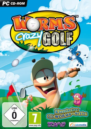 Worms Crazy Golf - [PC]