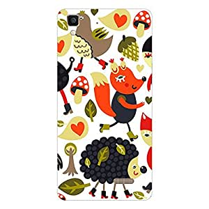 Garmor Designer Silicone Back Cover For vivo V3Max