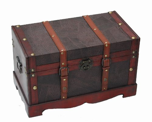 top-lidded-chest-wooden-storage-trunk-with-leather-pattern