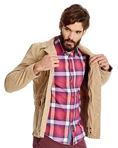 Desigual Camicia Uomo [Lampone]