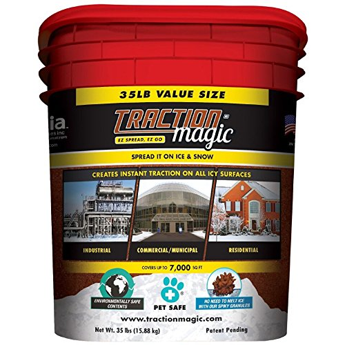 Traction Magic 35 Lbs/pail, From the Makers of Safe Paw (Safe Driveway Salt compare prices)