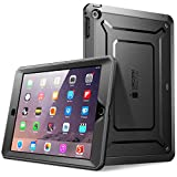 iPad Mini Case, SUPCASE [Heavy Duty] Apple iPad Mini 3 Case [2014 Release with Touch ID] Compatible with iPad Mini / iPad Mini with Retina Display [Unicorn Beetle PRO Series] Full-body Rugged Hybrid Protective Case Cover with Built-in Screen Protector, Black/Black - Dual Layer Design + Impact Resistant Bumper