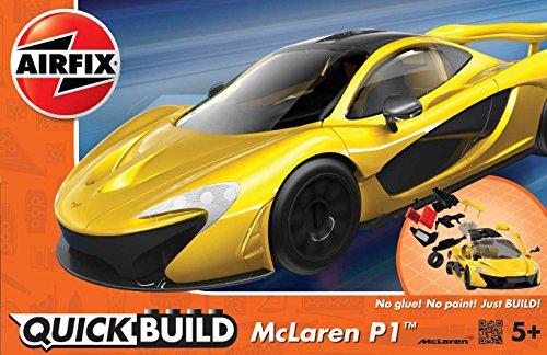 Airfix Quickbuild McLaren P1 Snap Together Plastic Model Kit (Airfix Model Kits compare prices)