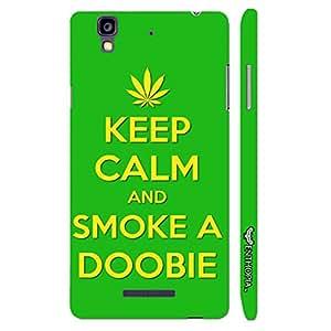 Micromax Yureka SMOKE A DOOBIE designer mobile hard shell case by Enthopia