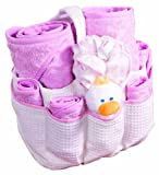 Summer Infant 9 Piece Lil' Luxuries  Essentials Set, Pink