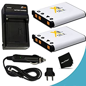 Amazon.com : 2 High Capacity Replacement Nikon EN-EL10 Batteries with