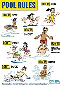 New Cimspa Swimming Pool Swim Training Rules Emergency