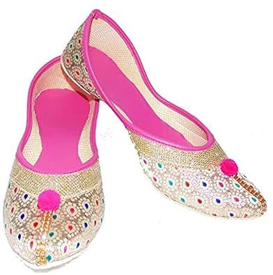Amazon India Men S Rajasthani Shoes