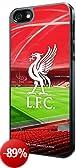 Liverpool FC - Cover rigida 3D per iPhone 5/5S, colore rosso