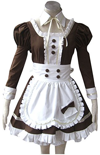 TOMSUIT Cosplay Restuarant French Maid Adult Halloween Costumes
