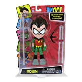 Robin with Power Action Karate Chop and Accessories Teen Titans Go! 7.5 Inch Action Figure