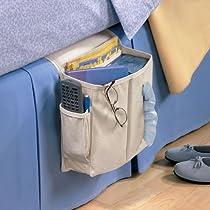 Sidekick Home Organizer Light Khaki Bedside/Arm Chair Caddy