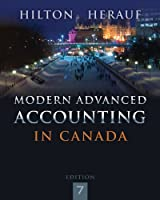 Modern Advanced Accounting in Canada, 7th Edition Front Cover