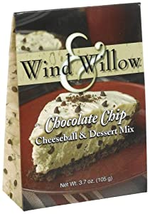 Wind & Willow Chocolate Chip Cheeseball, 3.7-Ounce Boxes (Pack of 6)