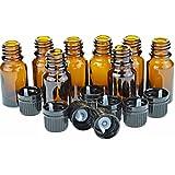 10 ml Amber Bottles P