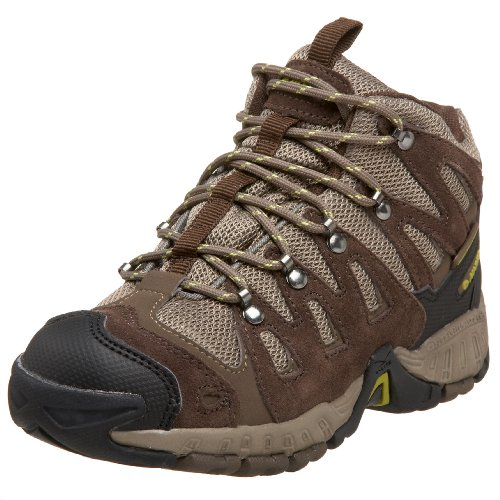 Hi-Tec Little Kid/Big Kid Multiterra Mid Wp Jr Hiking,Dk Choc/Taupe/Acrylic Olive,10 M US Toddler