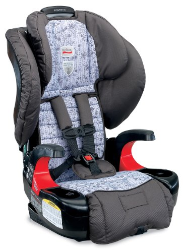 Britax Pioneer 70 Harness-2-Booster Car Seat, Gardengate back-689840