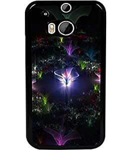 ColourCraft Beautiful Design Back Case Cover for HTC ONE M8