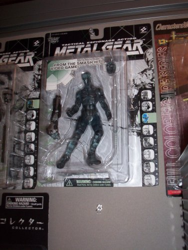 Picture of McFarlane Metal Gear Solid Optic Camouflage Ninja Action Figure (B0012FU2XM) (McFarlane Action Figures)