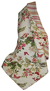 Greenland Home Butterflies Quilted Throw