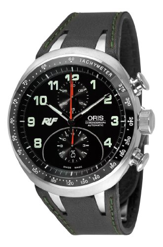 Oris Men's 67376117084LS Ruf CTR3 Chronograph Limited Edition Black Dial Watch