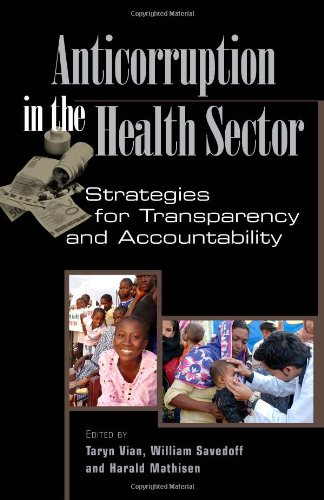 Anticorruption in the Health Sector 1565493370