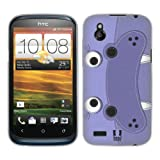 Head Case Designs Hippopotamus Animal Patches Soft Gel Back Case Cover for HTC Desire X X Dual SIM