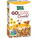 Kashi GOLEAN Crunch! Cereal, Honey Almond Flax, 14-Ounce Boxes (Pack of 4)