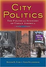 City Politics by Dennis R Judd