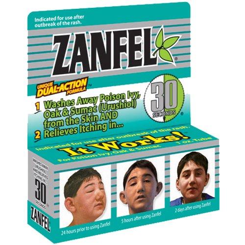 Zanfel Poison Ivy, Oak and Sumac Wash, 1 oz Tube