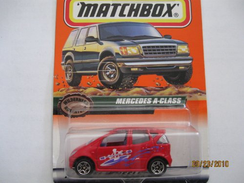 Matchbox Mercedes a Class Wilderness Adventure Series #56 - 1