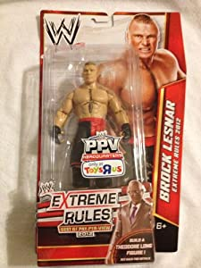 WWE 2013 EXCLUSIVE WWE PPV EXTREME RULES 2012 BROCK LESNAR WRESTLING FIGURE at Sears.com