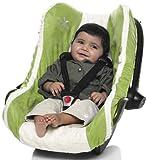 Wallaboo Housse siège auto Groupe 0 Housse universelle pour coques bébé sièges auto par ex pour Maxi Cosi Römer Vert