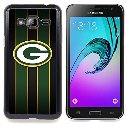 For Samsung Galaxy J3 - Green Bay Packer Hockey Case Cover Protection Design Ultra Slim Snap on Hard Plastic - God Garden - by King Case