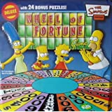 The Simpsons Wheel of Fortune Deluxe Edition with 24 Bonus Puzzles! Comes in Collectible Tin
