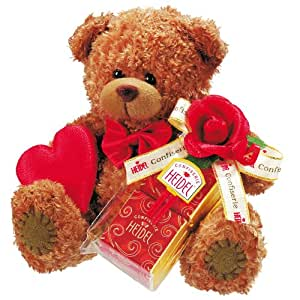 Heidel Teddy Bear with Mini Chocolate Bars 30 g