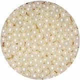 Pearlised Sugar Balls / Ivory(100g)
