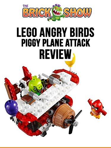 LEGO Angry Birds Piggy Plane Attack Review (75822)