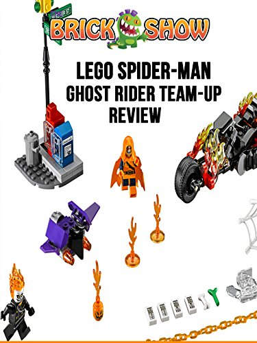 LEGO Super Heroes Spider: Ghost Rider Team-Up Review (76058)