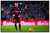 Styzzy Lionel Messi Quotes Poster - FC Barcelona Football Team Poster Paper Print -3