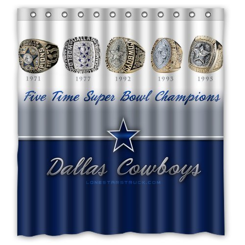 Dallas Cowboys Shower Curtains Price Compare