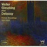 Walter Gieseking Plays Debussy (1930's recordings)