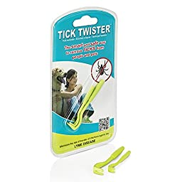 Tick Twister Safely removes tick from all animals including: dogs, cats, and Humans!