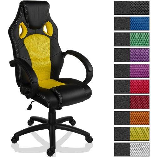 "Racing Bürostuhl ""MX Racer"", Wippfunktion, SGS geprüft, 10 Farbvarianten"