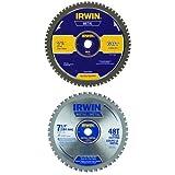 IRWIN Metal-Cutting Circular Saw Blade 7-1/4
