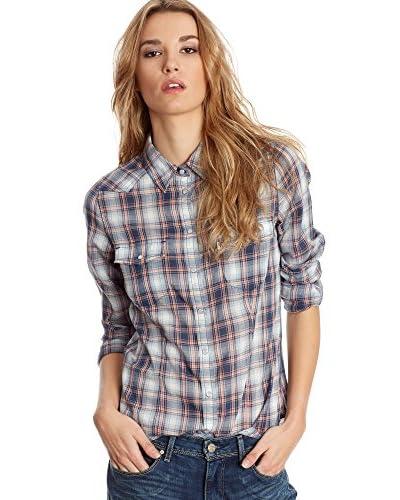 Levi's Strauss Camicia Donna Western [Blu]