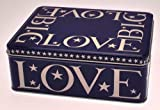 Emma Bridgewater Starry Skies Blue Deep Rectangular Tin.